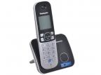 Телефон DECT Panasonic KX-TG6811RUB АОН, Caller ID 50, Спикерфон, Эко-режим, Радионяня