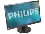"Монитор Philips 243V5LHSB/ 01(00) 23.6"" Black Hairline 1920x1080/ TFT TN/ 1ms/ DVI-D, VGA (D-Sub), HDMI, VESA"