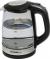 Чайник First FA-5406-6, 2200Вт, 2.0л, стеклянный, черный