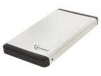 """Внешний корпус 2. 5"""" Gembird EE2-U3S-2-S,  серебро,  USB 3. 0,  SATA,  металл"""