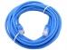"""Патч-корд литой """"Aopen"""" UTP кат.5е 20м синий ANP511_20M_B"""