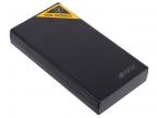 Внешний аккумулятор Hiper RP15000 Черный, 15000mAh, 2xUSB 2.1A, Li-Ion, индикатор заряда