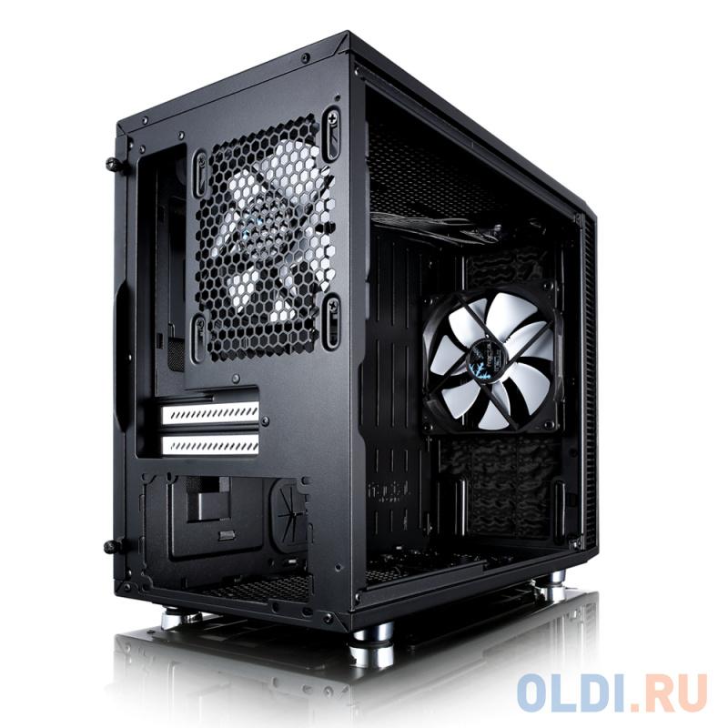 Корпус mini-ITX Fractal Define Nano S Windowi Без БП чёрный FD-CA-DEF-NANO-S-BK-W