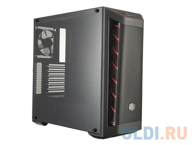 mesh panel lace trim bralette Cooler Master MasterBox MB511, 2xUSB3.0, 1x120 Fan, w/o PSU, Black, Red Trim, Mesh Front Panel, ATX