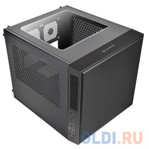 Корпус Thermaltake Suppressor F1 Mini ITX Black w/o PSU,Window,CA-1E6-00S1WN-00