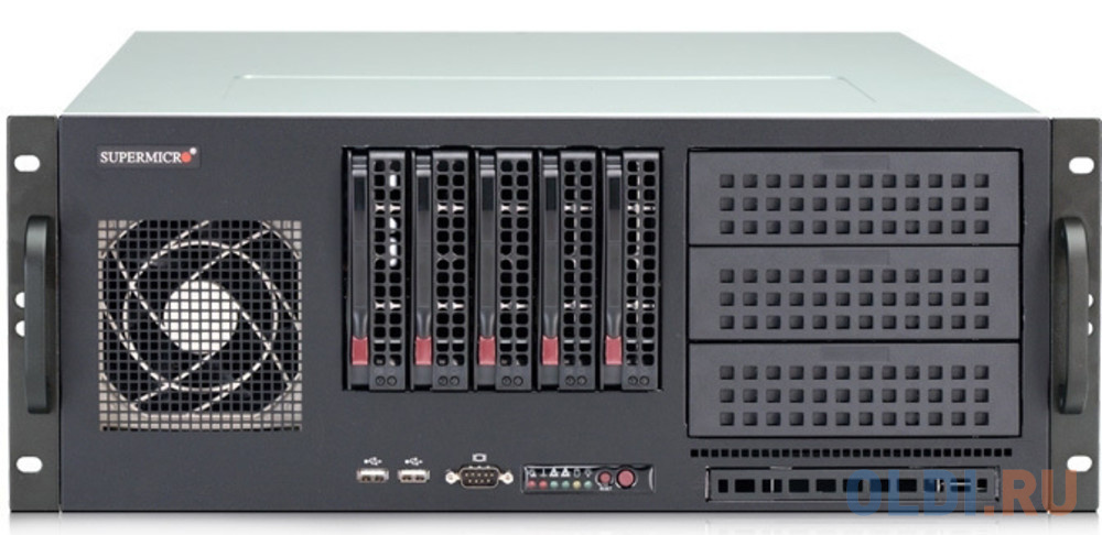 Фото - 4U, 668W Platinum Level High Efficiency Power Supply, 5x SAS3 3.5 HDD Bays, 3x 5.25 Peripheral Drive Bays, 1x Slim DVD-ROM Drive Bay, 5.7x Full-height, Full-length Tool-less Expansion SlotsDual channel Air Duct design, 2x Front USB 3.0 Ports & 1x Com po free shipping 1pcs cm50dy 12h power modules original new special supply welcome to order directly photographed yf0617 relay