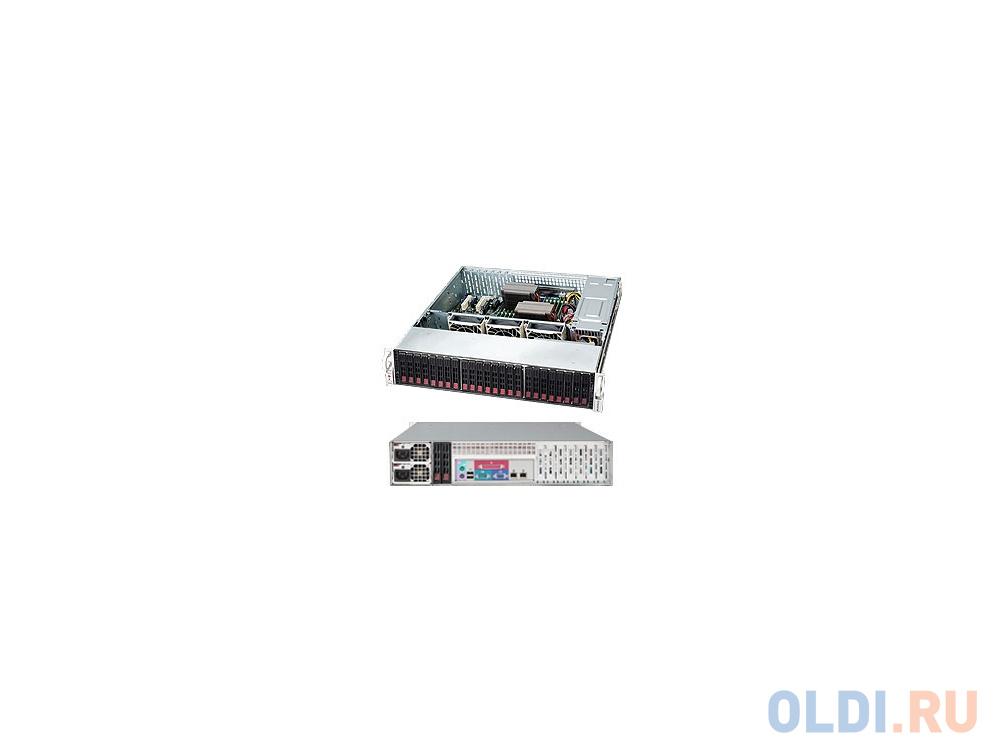 Серверный корпус 2U Supermicro CSE-216BE2C-R920LPB 920 Вт чёрный