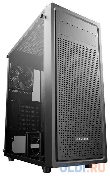 Фото - Корпус ATX Deepcool E-SHIELD Без БП чёрный материнская плата asrock z370 pro4 socket 1151 v2 z370 4xddr4 2xpci e 16x 3xpci e 1x 6 atx retail