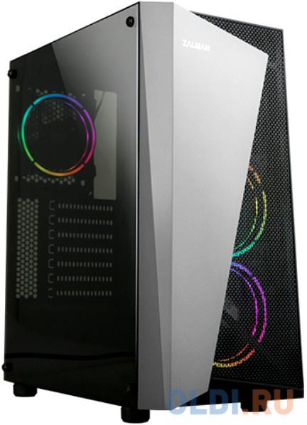 Корпус ATX Zalman S4 Plus Без БП чёрный корпус atx crown cmc gs10b без бп чёрный