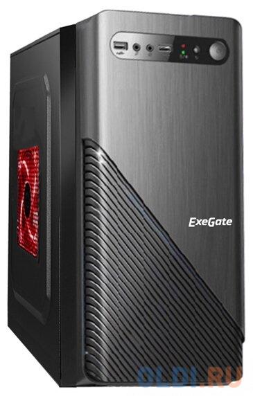 Exegate EX277803RUS Корпус Minitower BAA-103 Black, mATX, <без БП>, 2*USB, Audio