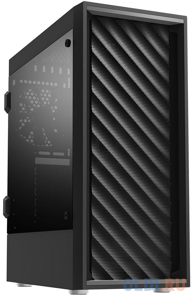 Корпус Zalman ZM-T7 черный без БП ATX 3x120mm 2xUSB2.0 1xUSB3.0 audio компьютерный корпус zalman zm t7 black