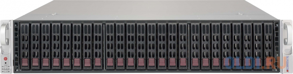 Фото - Серверный корпус 2U Supermicro CSE-216BE2C-R741JBOD 2 х 740 Вт чёрный корпус supermicro cse 826be1c4 r1k23lpb 2x1200w черный