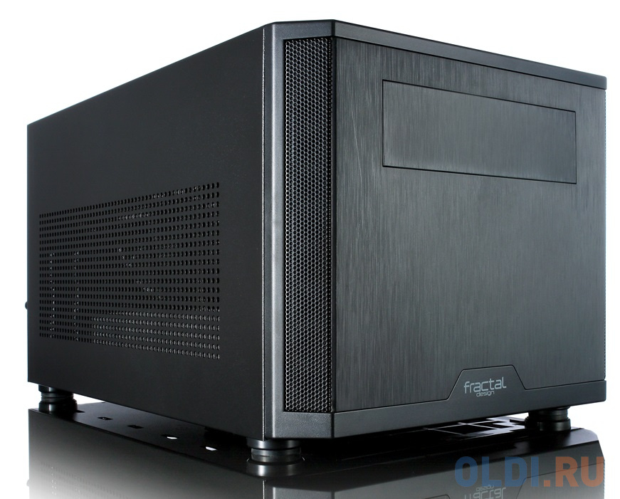 Корпус mini-ITX Fractal Core 500 Без БП чёрный корпус mini itx fractal design define nano s без бп чёрный