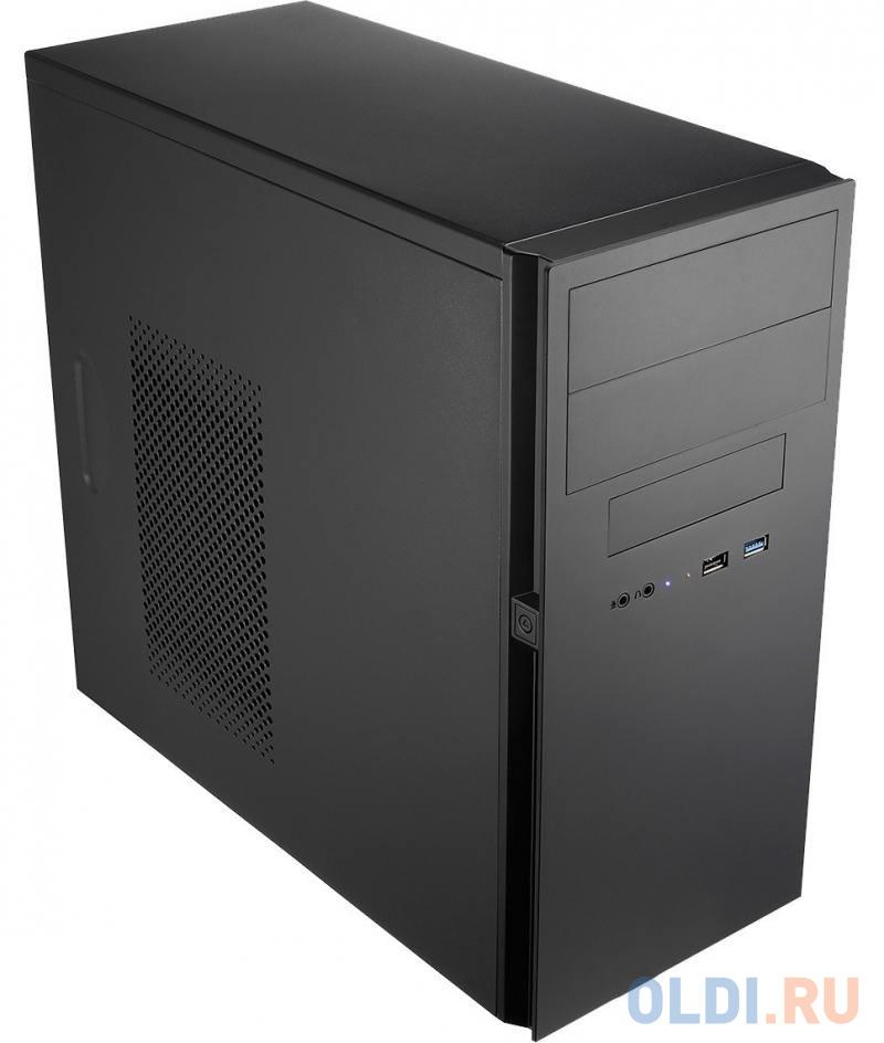 Корпус microATX Powerman ES725BK Без БП чёрный 6120640