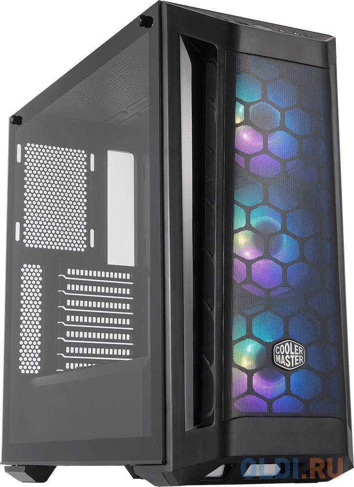 Фото - Корпус E-ATX Cooler Master MasterBox MB511 RGB Mesh Без БП серебристый корпус e atx cooler master masterbox mb511 rgb mesh без бп серебристый