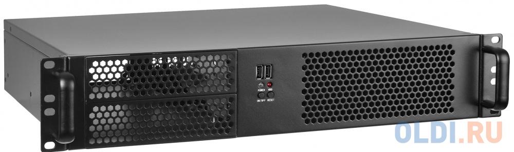 "Exegate EX264958RUS Серверный корпус Exegate Pro 2U390-04 <RM 19"",  высота 2U, глубина 390, БП 500ADS, USB>"