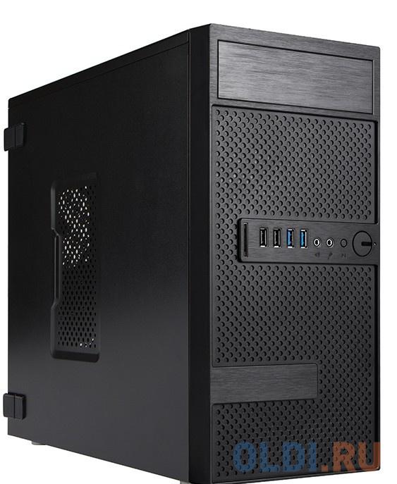 Корпус microATX InWin EFS063BL 500 Вт чёрный 6134715 биметаллический радиатор rifar рифар b 500 нп 10 сек лев кол во секций 10 мощность вт 2040 подключение левое