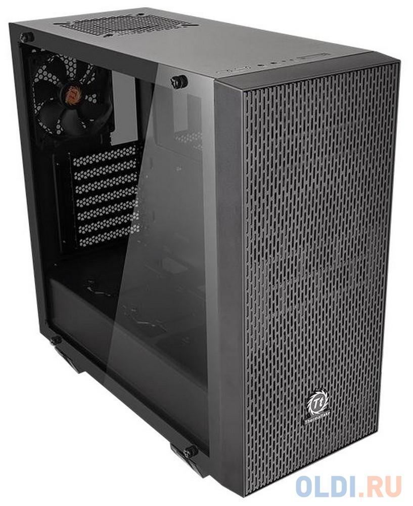 Корпус Thermaltake H550 TG RGB черный без БП ATX 5x120mm 5x140mm 2xUSB2.0 1xUSB3.0 audio bott PSU корпус thermaltake h100 tg черный без бп atx 1x120mm 2xusb3 0 audio bott psu
