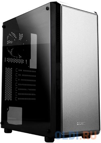 Корпус Zalman S4 черный без БП ATX 6x120mm 1xUSB2.0 1xUSB3.0 audio bott PSU zalman k1 черный