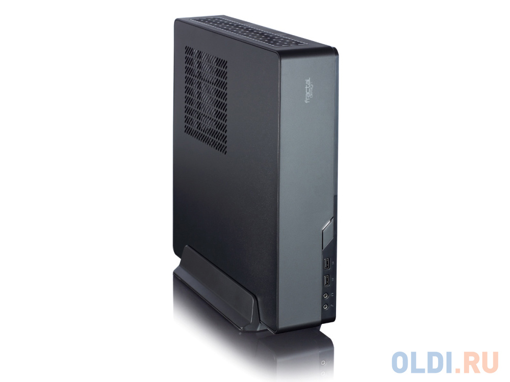 Корпус mini-ITX Fractal Node 202 Без БП чёрный FD-CA-NODE-202-BK корпус mini itx fractal design define nano s без бп чёрный