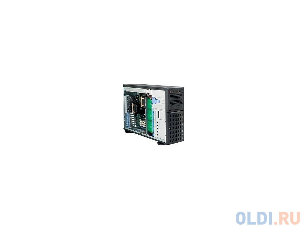 Фото - Серверный корпус E-ATX Supermicro CSE-745TQ-R1200B 1200 Вт чёрный материнская плата asrock z370 pro4 socket 1151 v2 z370 4xddr4 2xpci e 16x 3xpci e 1x 6 atx retail