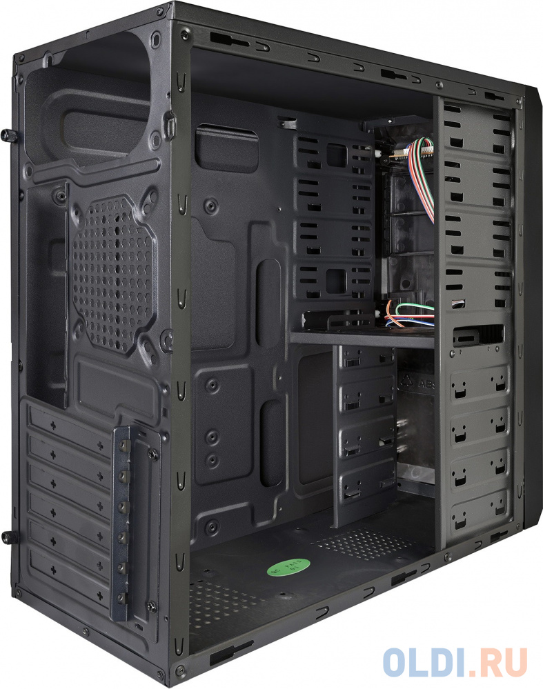 Exegate EX282191RUS Корпус Miditower ExeGate PS-119 Black, ATX, , 2*USB, Audio