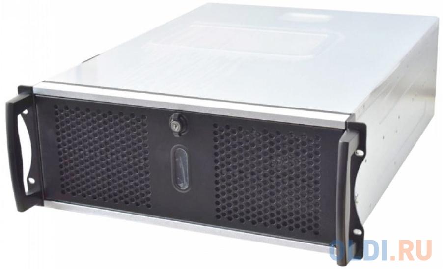 Серверный корпус mini-ITX Chenbro RM41300H12*13729 Без БП чёрный серебристый