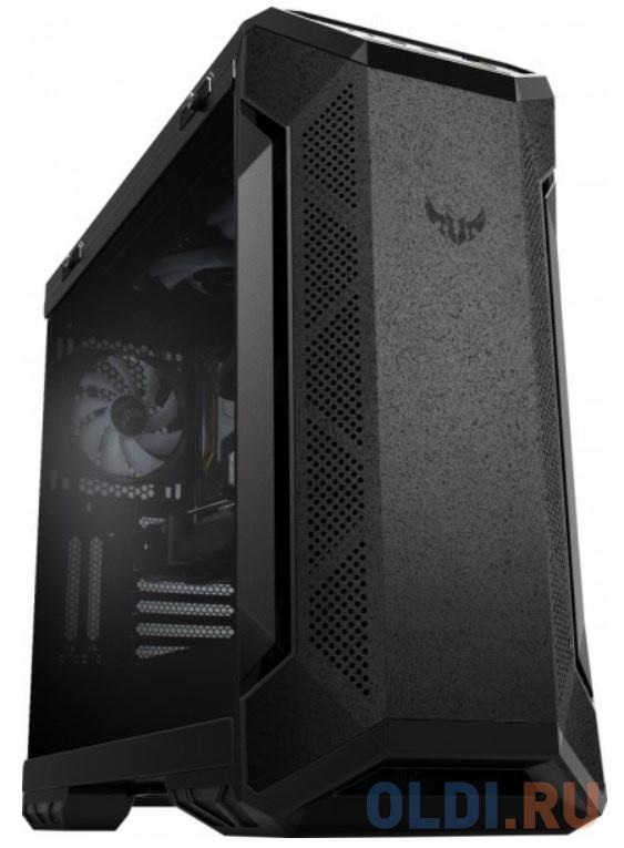Компьютерный корпус Asus TUF Gaming GT501 (EATX, RGB подсветка, вентиляторы 120мм и 140мм, стеклянная боковая панель)