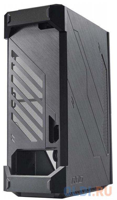 Компьютерный корпус Asus ROG Z11 CASE BLACK (Mini-ITX / DTX, RGB подсветка, вентиляторы RGB, стеклянная боковая панель)