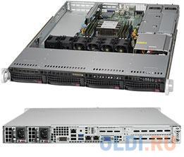 Фото - Серверный корпус 1U Supermicro CSE-815TQC-R504WB 500 Вт чёрный корпус supermicro cse 116ac2 r706wb 1u