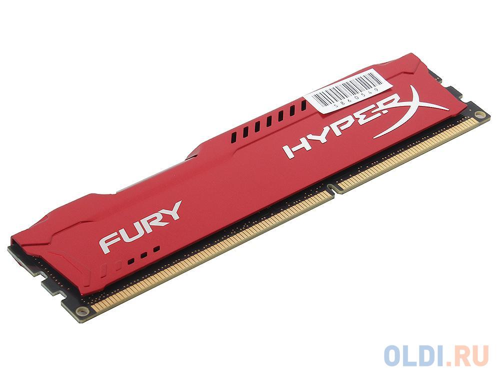 Оперативная память Kingston HX318C10FR/4 DIMM 4Gb DDR3 1866MHz