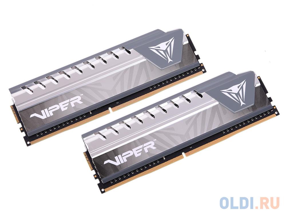 Оперативная память Patriot Memory Viper4 Elite Grey PVE416G266C6KGY DIMM 16GB (2x8GB) DDR4 2666MHz фото