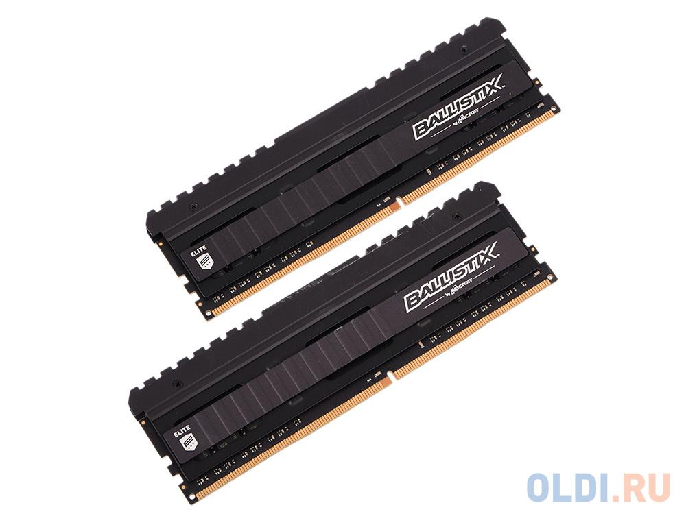 Оперативная память Crucial Ballistix Elite BLE2C8G4D32BEEAK DIMM 16GB  (2x8GB) DDR4 3200MHz