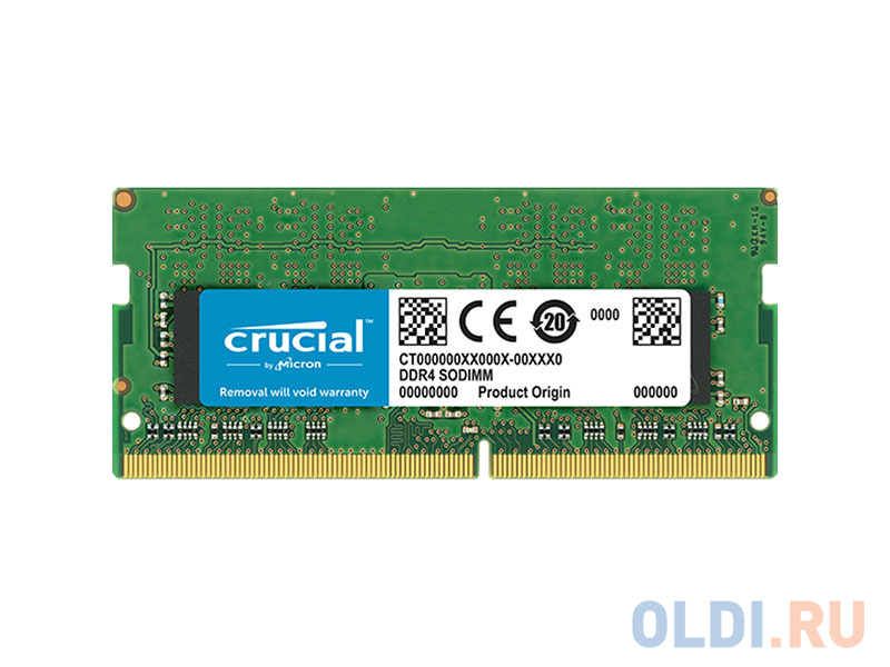 Оперативная память Crucial CT4G4SFS8266 SO-DIMM 4GB DDR4 2666MHz