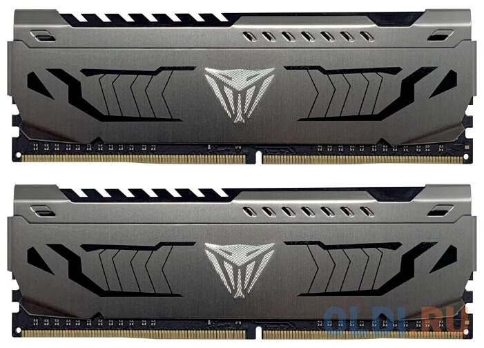 Оперативная память 16Gb (2x8Gb) PC4-35200 4400MHz DDR4 DIMM CL19 Patriot PVS416G440C9K оперативная память patriot 2x8gb ddr4 dimm pvs416g413c9k