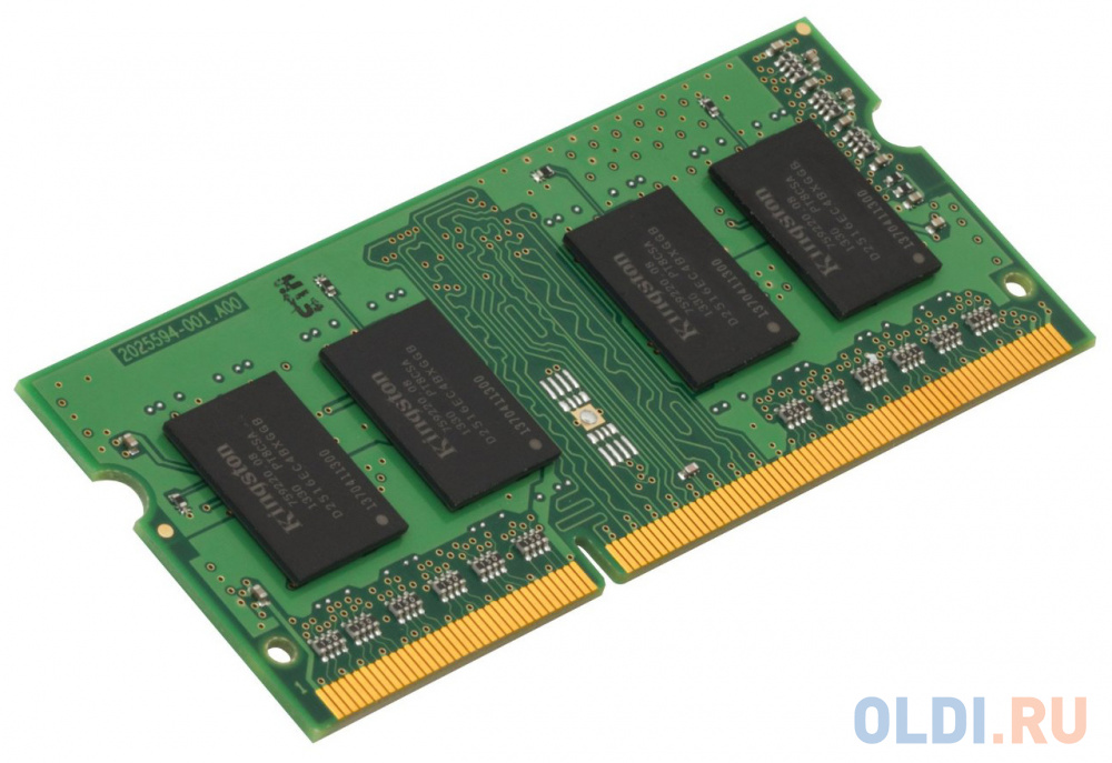 Оперативная память для ноутбука 4Gb (1x4Gb) PC3-12800 1600MHz DDR3L SO-DIMM CL11 Kingston KCP3L16SS8/4 фото