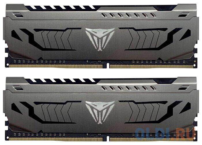 Оперативная память 16Gb (2x8Gb) PC4-27200 3400MHz DDR4 DIMM CL16 Patriot PVS416G340C6K оперативная память patriot 2x8gb ddr4 dimm pvs416g413c9k