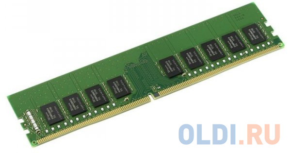 Оперативная память 16Gb (1x16Gb) PC4-19200 2400MHz DDR4 DIMM ECC CL17 Kingston KSM24ED8/16ME фото