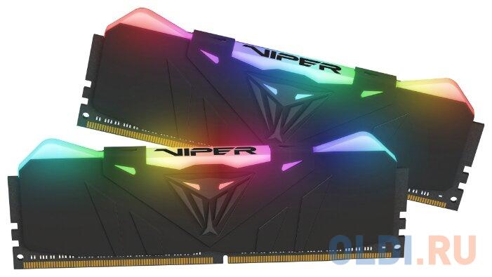 Оперативная память 16Gb (2x8Gb) PC4-28800 3600MHz DDR4 DIMM CL18 Patriot PVR416G360C8K оперативная память patriot 2x8gb ddr4 dimm pvs416g413c9k