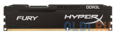 Оперативная память 4Gb (1x4Gb) PC3-12800 1600MHz DDR3L DIMM CL10 Kingston HX316LC10FB/4 фото