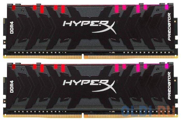 Фото - Оперативная память 16Gb (2x8Gb) PC4-23400 2933MHz DDR4 DIMM CL15 Kingston HX429C15PB3AK2/16 память оперативная ddr4 hpe pc4 2933y r 16gb 2933mhz p00920 b21
