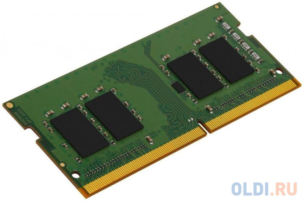 Оперативная память для ноутбука 4Gb (1x4Gb) PC4-25600 3200MHz DDR4 SO-DIMM CL22 Kingston KVR32S22S6/4 оперативная память для ноутбуков kingston hyperx impact hx432s20ib2 8 so dimm 8gb ddr4 3200mhz so dimm 260 pin pc 25600 cl20