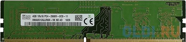 Оперативная память 4Gb (1x4Gb) PC4-21300 2666MHz DDR4 DIMM CL19 Hynix HMA851U6JJR6N-VKN0.