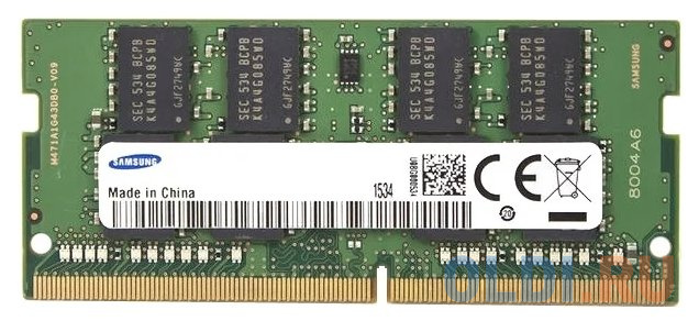 Оперативная память для ноутбука 16Gb (1x16Gb) PC4-21300 2666MHz DDR4 SO-DIMM CL19 Samsung M471A2K43CB1-CTD фото