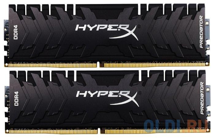 Оперативная память 16Gb (2x8Gb) PC4-28800 3600MHz DDR4 DIMM CL17 Kingston HX436C17PB4AK2/16 фото