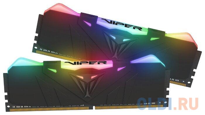 Оперативная память 16Gb (2x8Gb) PC4-28800 3600MHz DDR4 DIMM CL17 Patriot PVR416G360C7K оперативная память patriot 2x8gb ddr4 dimm pvs416g413c9k