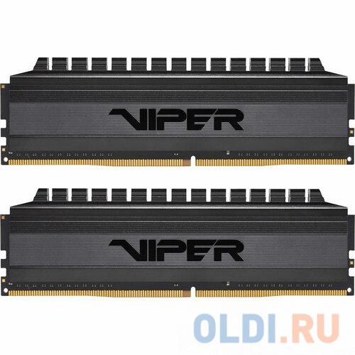 Оперативная память 16Gb (2x8Gb) PC4-33000 4133MHz DDR4 DIMM CL18 Patriot PVB416G413C8K оперативная память patriot 2x8gb ddr4 dimm pvs416g413c9k