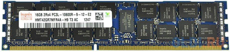 Модуль памяти DDR3L DIMM 16Гб 1333MHz ECC Registered 2Rx4 CL9 Hynix Original RTL.