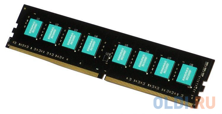 Фото - Оперативная память 16Gb (1x16Gb) PC4-19200 2400MHz DDR4 DIMM CL16 KingMax KM-LD4-2400-16GS оперативная память 16gb pc4 19200 2400mhz ddr4 dimm lenovo 46w0829