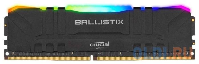 Оперативная память для компьютера Crucial BLM8G40C18U4BL DIMM 8Gb DDR4 4000MHz оперативная память crucial ballistix max rgb 8gb ddr4 4000mhz dimm 288 pin cl18 blm8g40c18u4bl